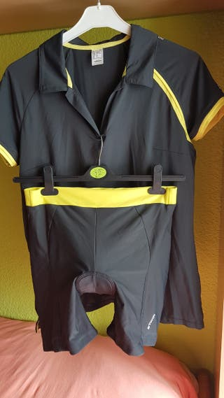 Maillot y cullot bici ,mujer.
