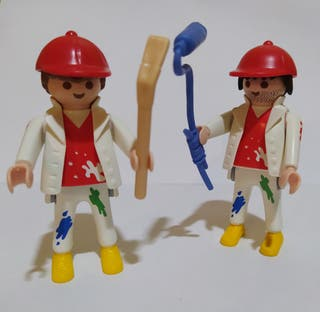 Playmobil pareja pintores