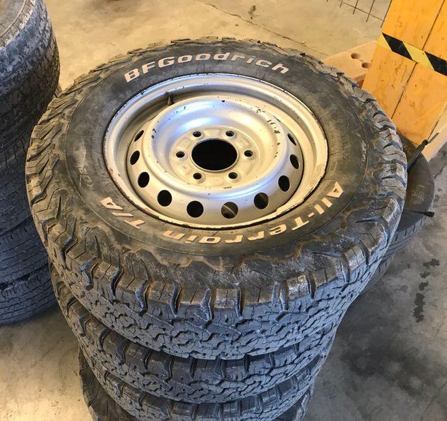 Llantas y neumáticos Bfgoodrich