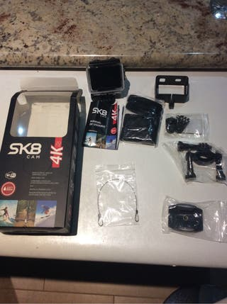 Cámara deportiva tipo GoPro Sk8 4k