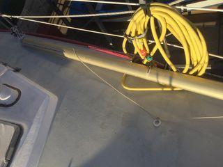 Tangon de aluminio para veleros