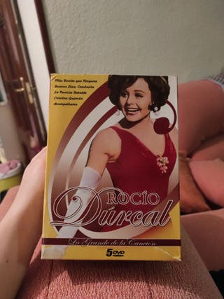 Pack 5 dvd Rocío Durcal