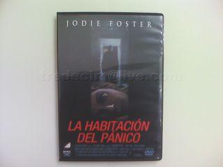 """Película """"La habitación del pánico"""" DVD original"""