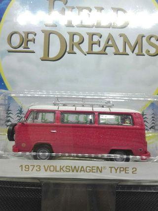 Volkswagen Type 2 Campo de sueño Greenlight 1/64