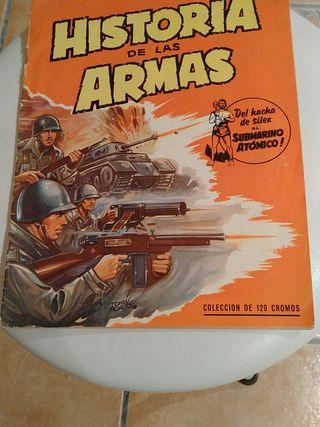 Historia de las armas