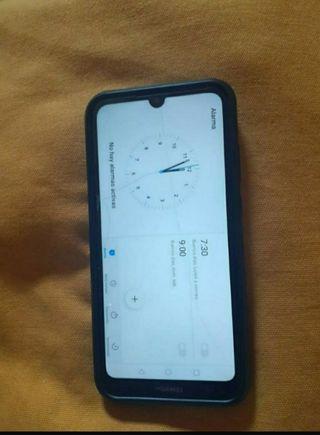 Huawei Y6 2019 + funda + cristal templado