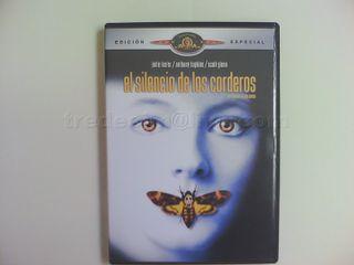 """Película """"El silencio de los corderos"""" en DVD"""