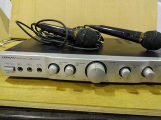 Karaoke Boman con 2 micrófonos