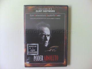 "Película ""Poder absoluto"" DVD original precintado"