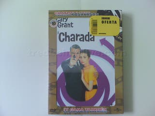 "Película ""Charada"" en DVD original precintado"