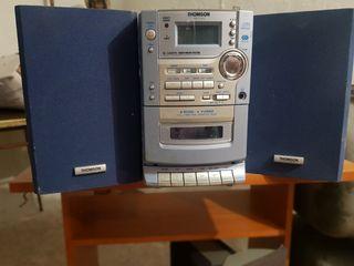 minicadena cd y caset