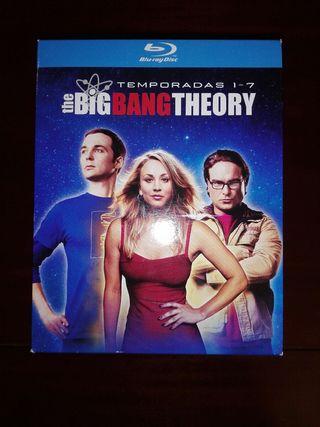 The Big Bang Theory Pack Temporadas 1 a 7 Blu-ray
