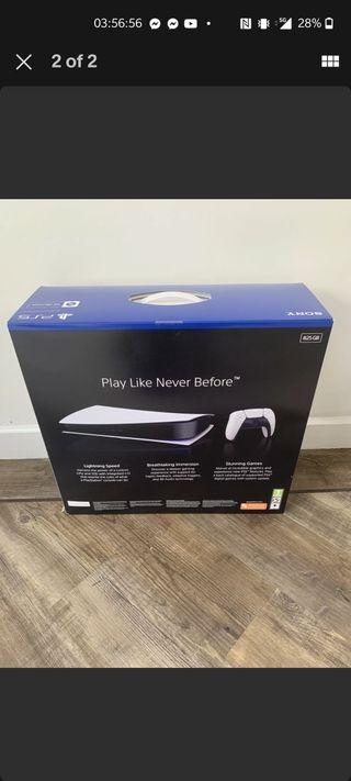 PlayStation 5 (PS5) Digital - Unopened, Glasgow. *