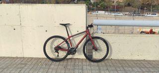 Bicicleta híbrida urbana gravel Giant Seek 2