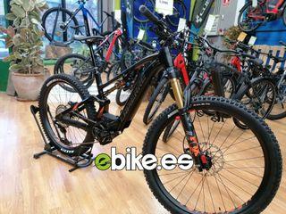 Bicicleta eléctrica Lapierre doble suspensión