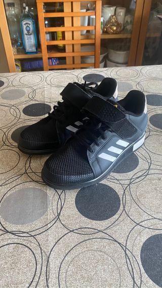 Zapatillas halterofilia Adidas 39