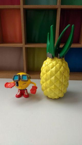Pac-man Pacman tanque piña con figura