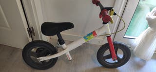 bicicleta equilibrio con freno