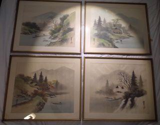 Cuadros japoneses originales