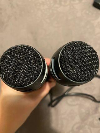 Micrófonos singstar karaoke