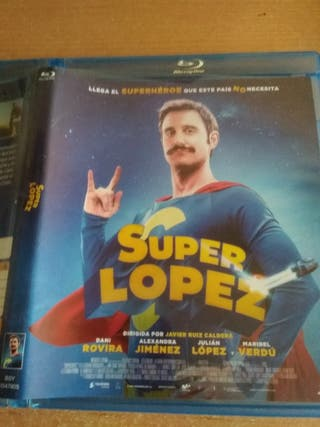 película Blu-ray superlópez
