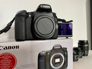 Canon 70D + objetivos