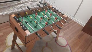 Futbolín, billar, ping pon, todo en uno