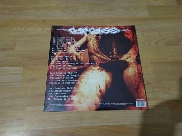 """Carcass """"choise cuts"""" 2x LP rojo limitado 300"""