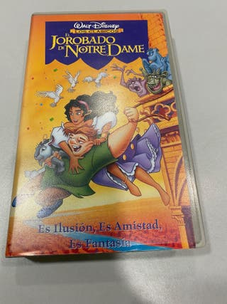 Película VHS El jorobado de Notre Dame