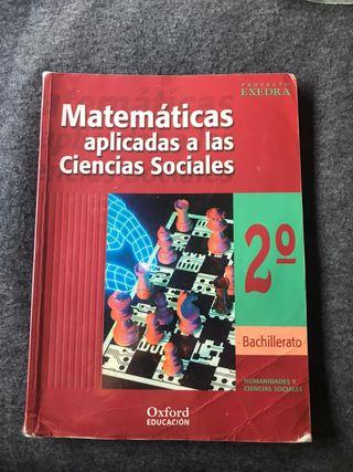 L. Texto matemáticas aplicadas a ciencias sociales