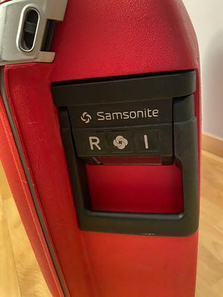 Maleta Samsonite roja
