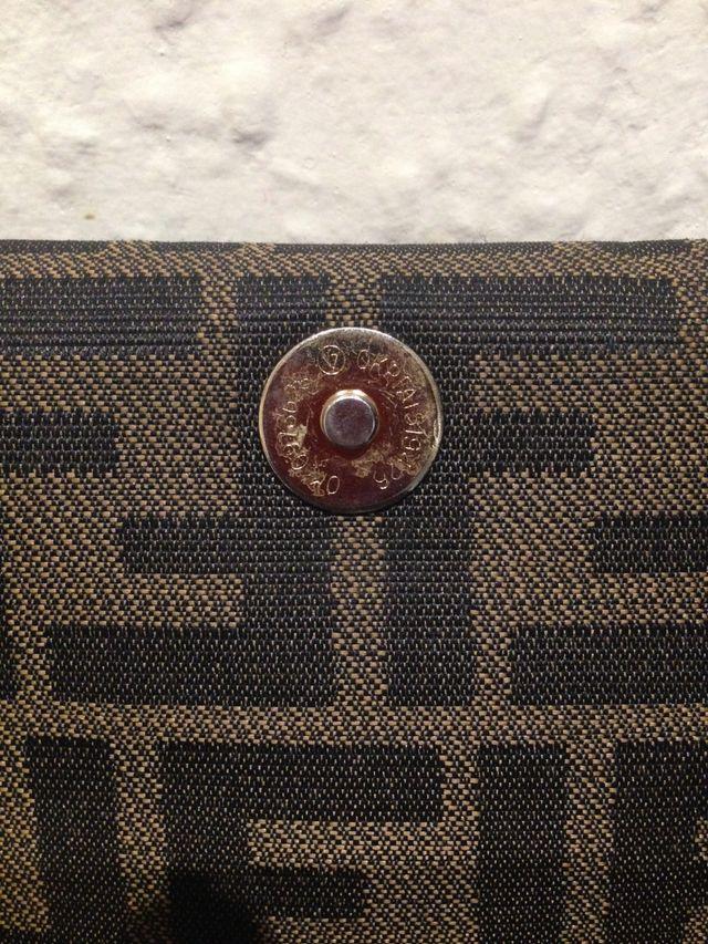 RARE Authentic FF Zucca Vintage Fendi Shoulder Bag