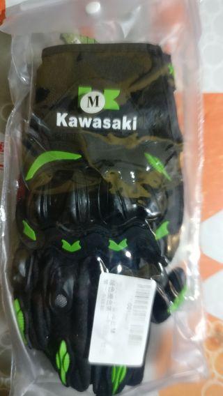 guantes de moto Kawasaki M