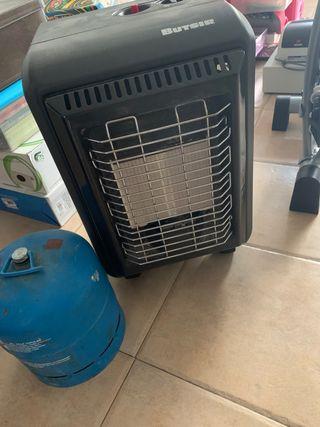Estufa de gas pequeña (ideal camping)
