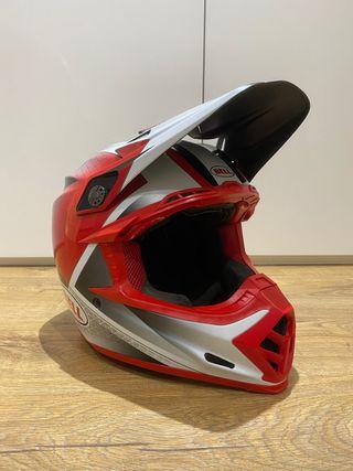 Bell Moto 9 Flex rojo