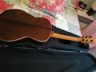 Guitarra flamenca de palillos