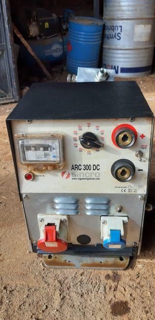 soldador hidráulico sincro arc 300