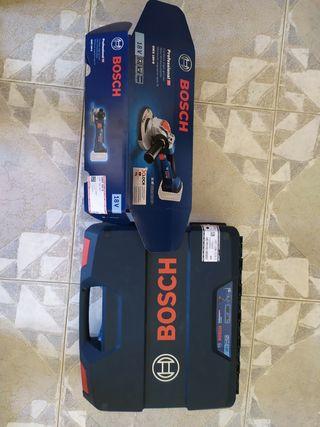 pack radial más taladro Bosh 18V