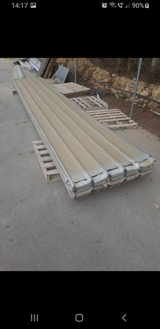 chapas perfiladas de tejado