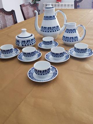 juego café porcelana Sargadelos