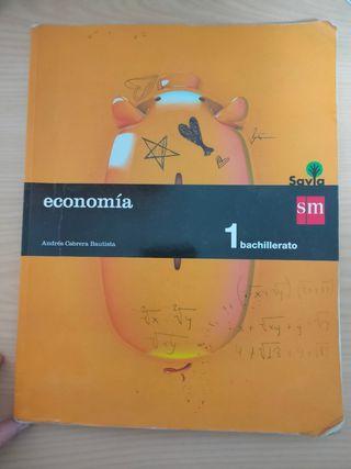 Libro de economía. 1° Bachillerato