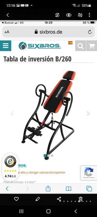 TABLA DE INVERSION (SIXBROS)