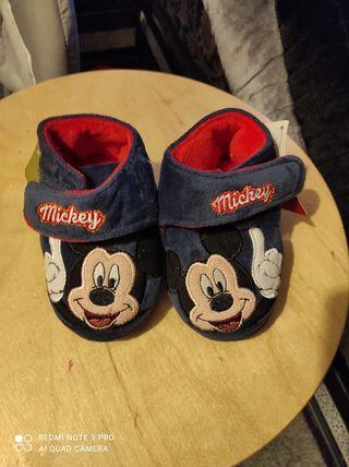 pantofa de mickey