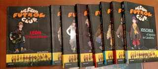 """Libros """"Las fieras fútbol club""""."""