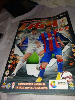 álbum de cromos la Liga 2015-16