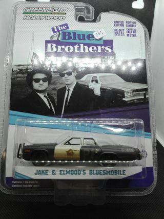 Dodge Monaco Blues Brothers Greenlight 1/64