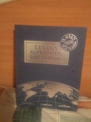 libro de sellos del mundo