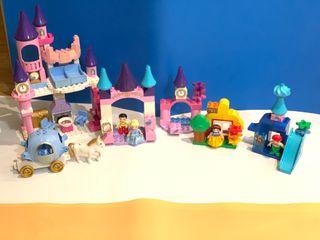 LEGO DUPLO COLECCION PRINCESAS DISNEY Y CASTILLO
