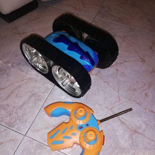 Coche Oruga, juguete con mando a distancia