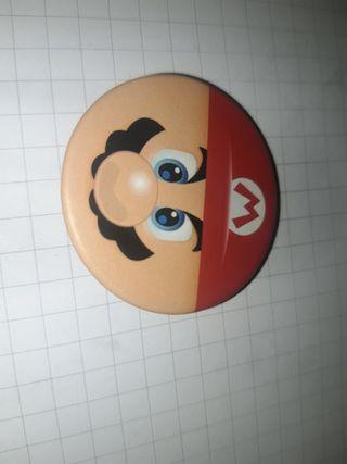 Pin chapa super Mario